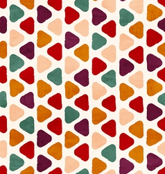 funky retro seamless pattern vector image vector image