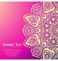 Beautiful Mandala vector