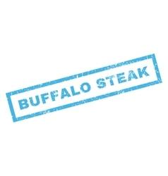 Buffalo Steak Rubber Stamp vector