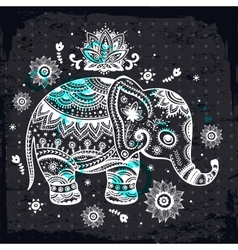Ethnic elephant vector