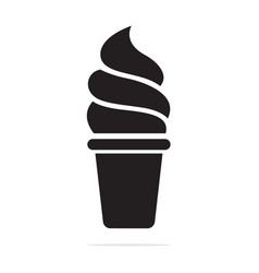 ice cream cone icon concept for vector image
