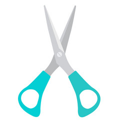 scissors icon isolated on white background vector image