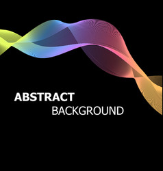 abstract background with colourful pastel lines vector image vector image