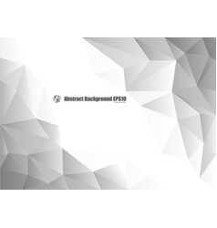 abstract gray geometric background with copy space vector image