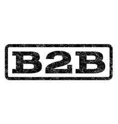 B2b watermark stamp vector