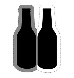 beer drink design vector image