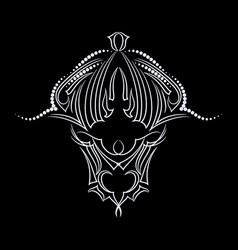 buffalo - template design vector image