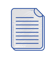 Business document information to corporate vector