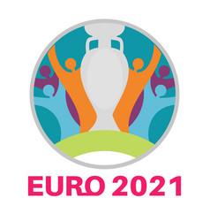 Euro 2020 euro european football championship vector