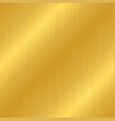 seamless gold metal texture vector image