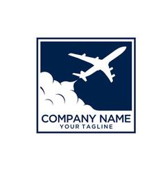 Travel logo template vector