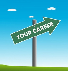 Your career vector image