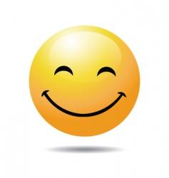 smiley face vector image vector image