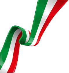 italian background with flag vector image