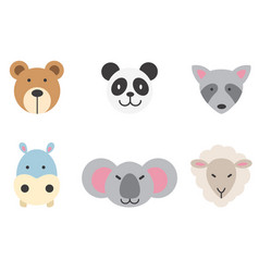 set of animal vector image vector image
