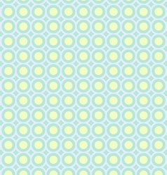 Abstract circles pattern pastel background vector image vector image