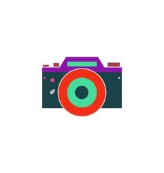 Dslr icon vector