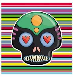 Candy skull vector