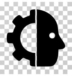 Cyborg Icon vector
