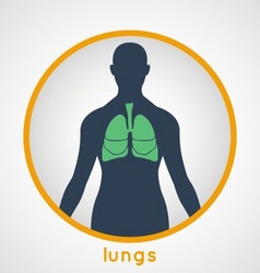 Lungs Poster vector