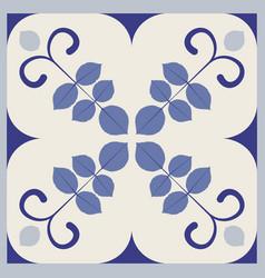 ornamental tiles pattern vector image