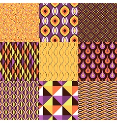 Pattern geometric set vector