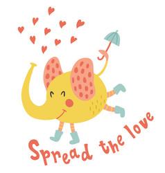 Spread love vector