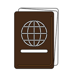 travel and tourism symbol vector image