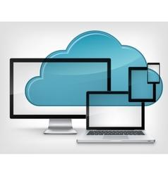 Cloud Service vector image vector image