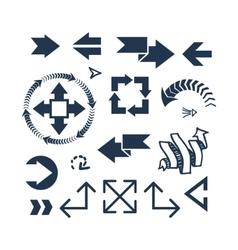 Arrow web icon vector image