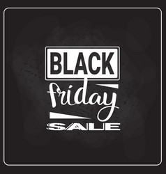 Black friday sale flyer holiday shopping discount vector