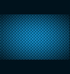 blue abstract textured triangular background vector image