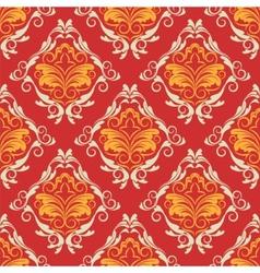 damask wallpaper vector image