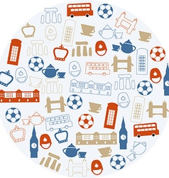 London icons vector