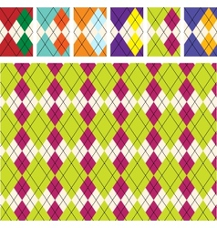 Scottish pattern vector image