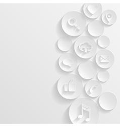 Web concept vector image