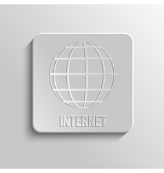 worldnet internet vector image