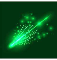 Falling Meteorite vector image vector image