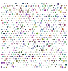 Bright color circles vector image vector image