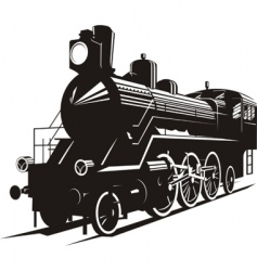 steam engine vector image vector image