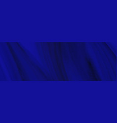 Abstract background with dark blue streaky waves vector