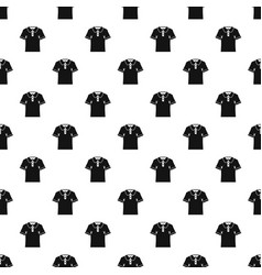 men polo shirt pattern vector image