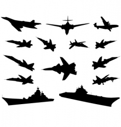 military technics vector image
