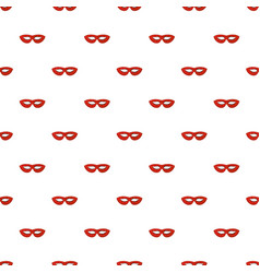 mystical mask pattern seamless vector image