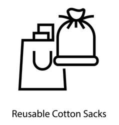 Resealable bags vector