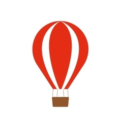 red airballoon recreation vacation travel vector image