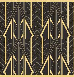 Abstract art deco geometric pattern vector