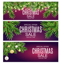 Abstract christmas sale special offer background vector