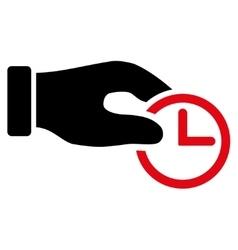 Clock Properties Icon vector