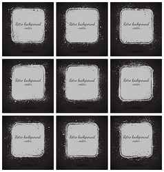 Grunge retro background vector image vector image